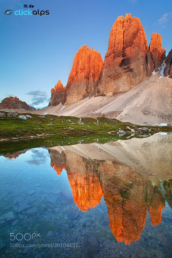 Photograph Tre Cime di Lavaredo by Matteo Re on 500px