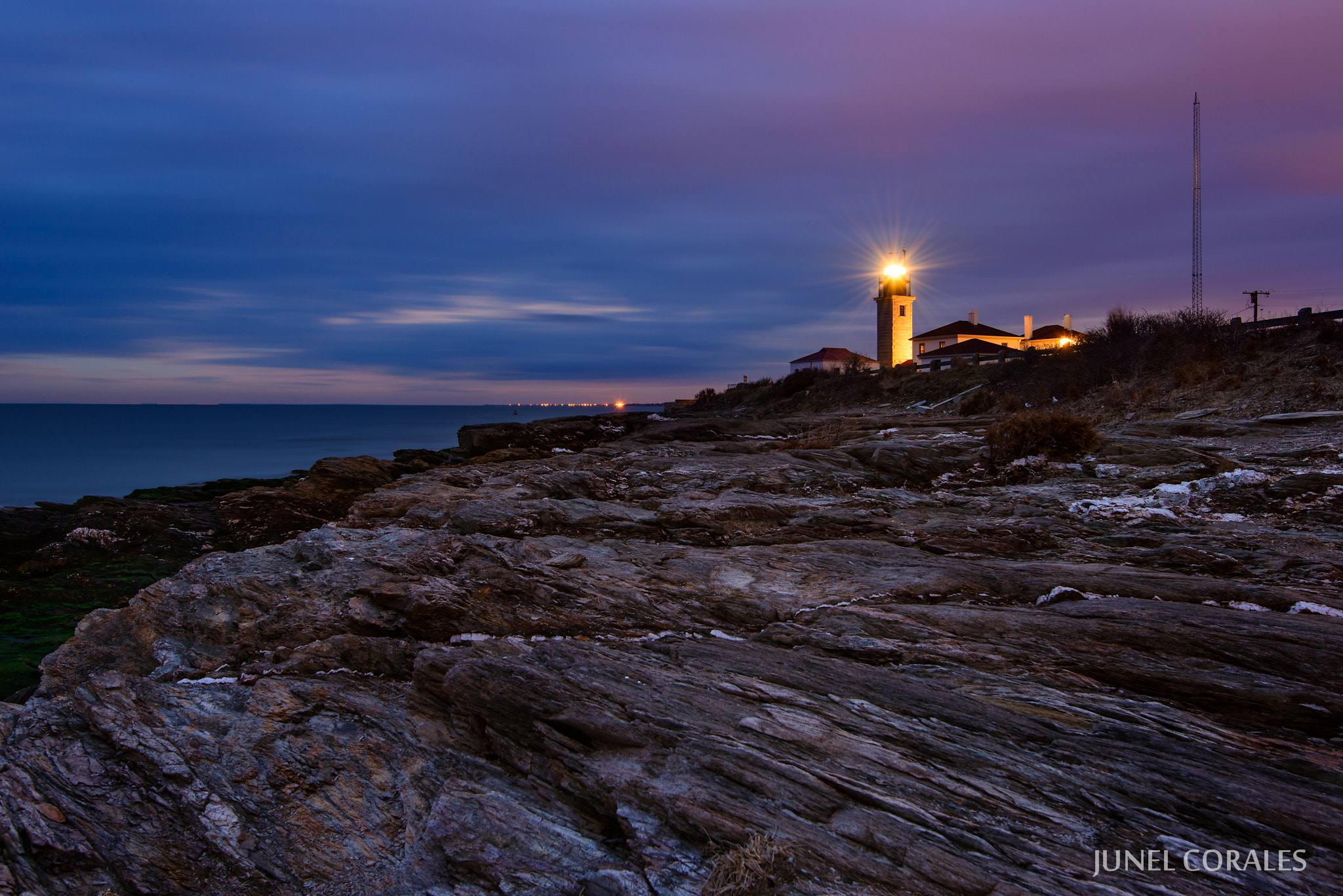 Photograph Beavertail Light II by Junel Corales on 500px