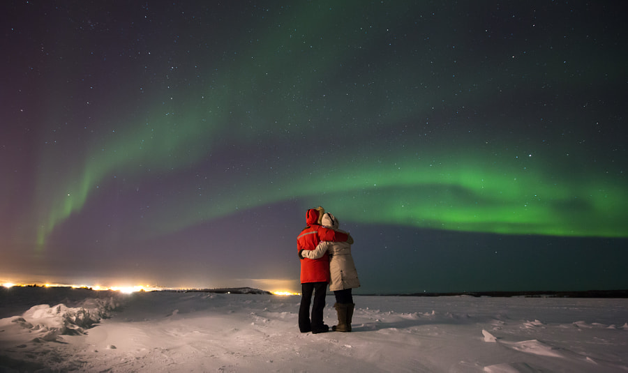 Photograph A Love Story For Yellowknife by Dave Brosha on 500px, engagement photo ideas