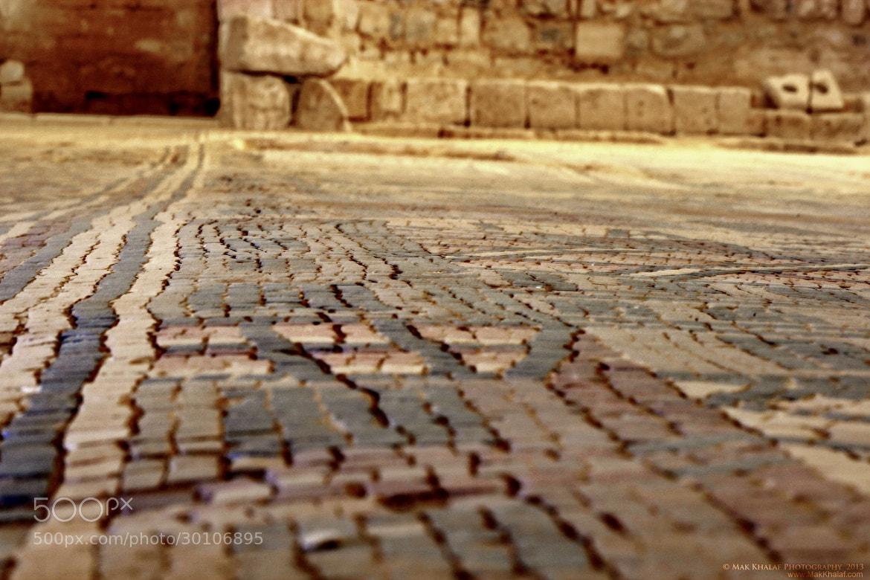 Photograph Ancient Church Mosaic.  by Mak Khalaf on 500px