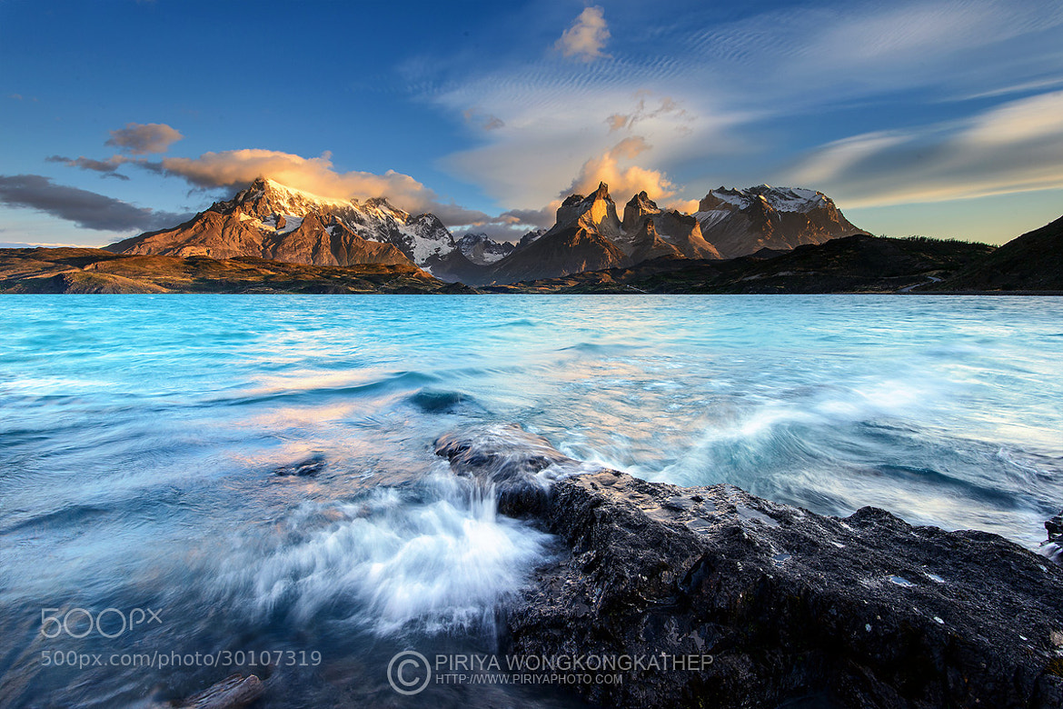 Photograph A View of Chilean Patagonia by Pete Wongkongkathep on 500px