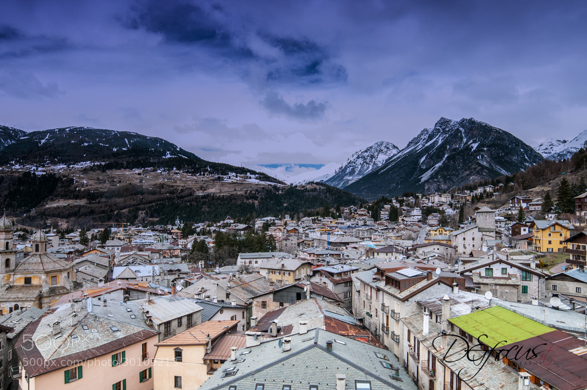 Photograph Tetti di Bormio by Simone Cesana on 500px