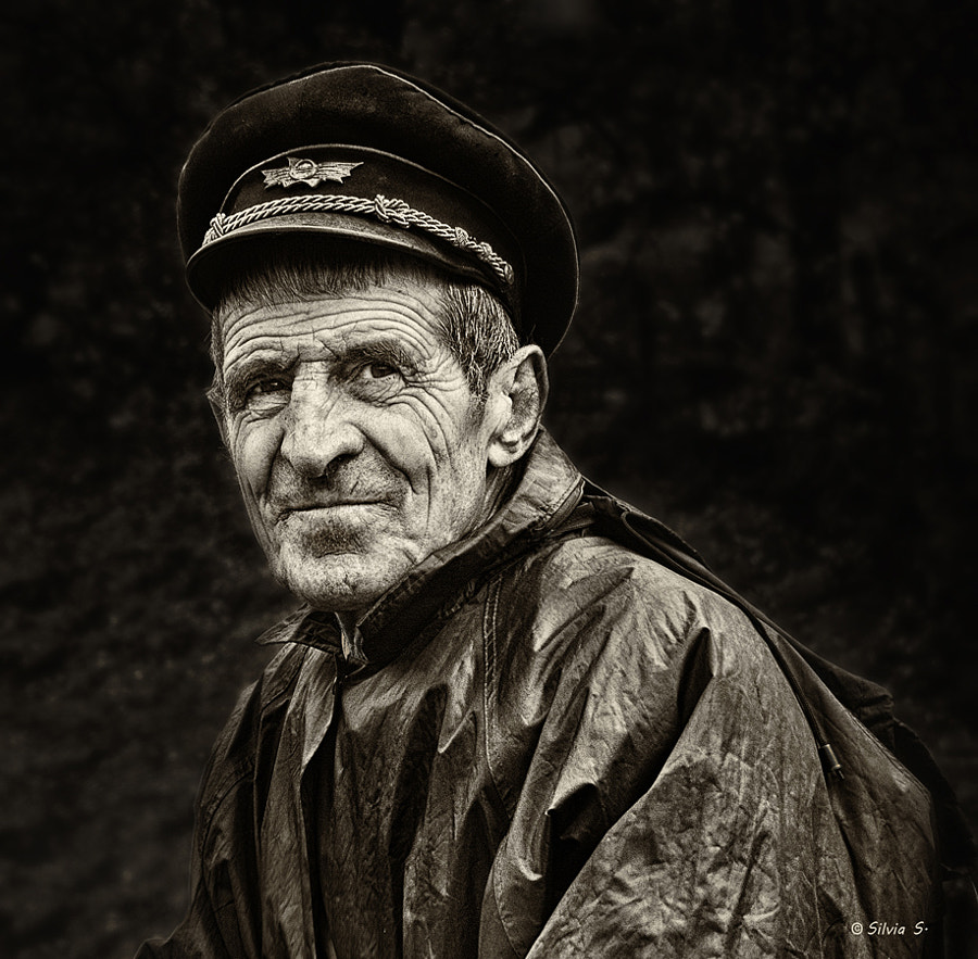 Photograph  One Railroader by Silvia S. on 500px