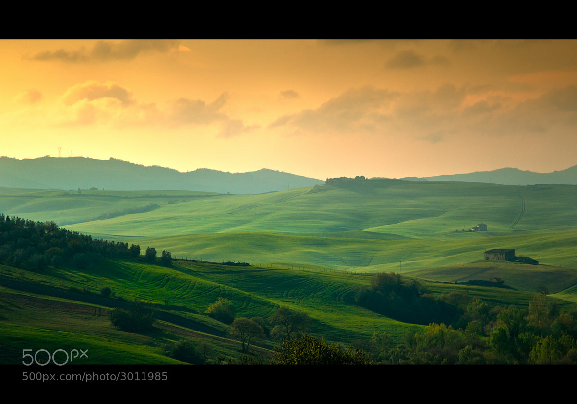 Photograph Val d'Orcia hills by David Butali on 500px