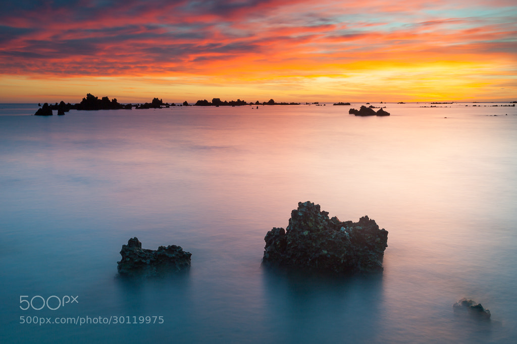 Photograph Trengandin spring sunrise by Andoni Lamborena on 500px