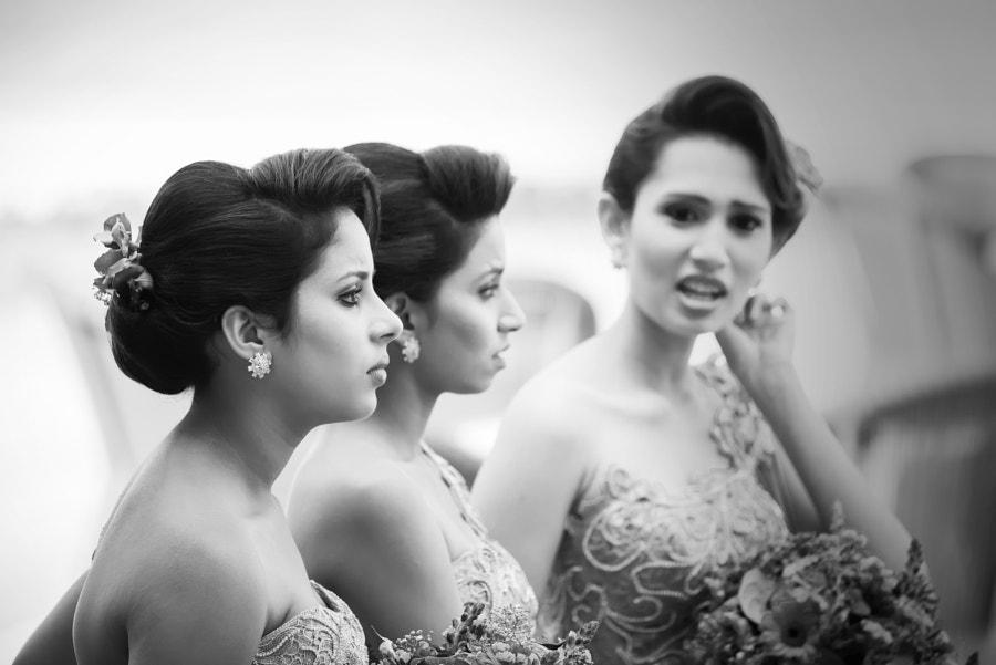 Sri Lankan beauties (B&W) by Olivier Schram on 500px.com