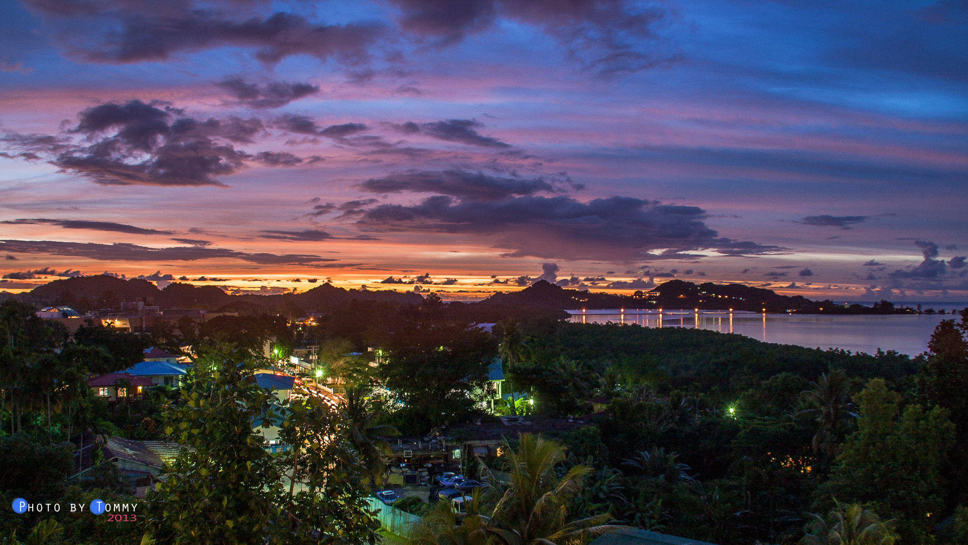 Photograph Sunset in Palau by Tommy Hsieh on 500px