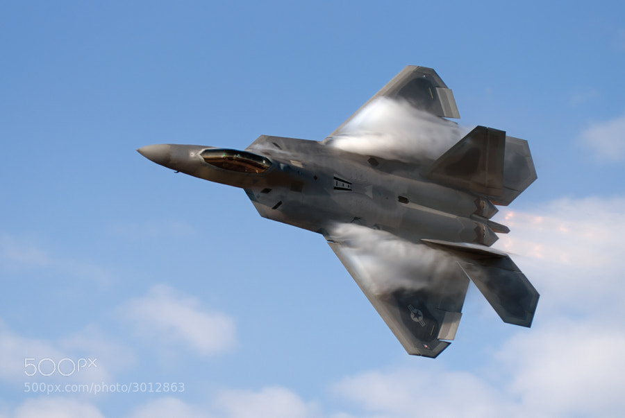F-22A Raptor at Wings Over Atlanta