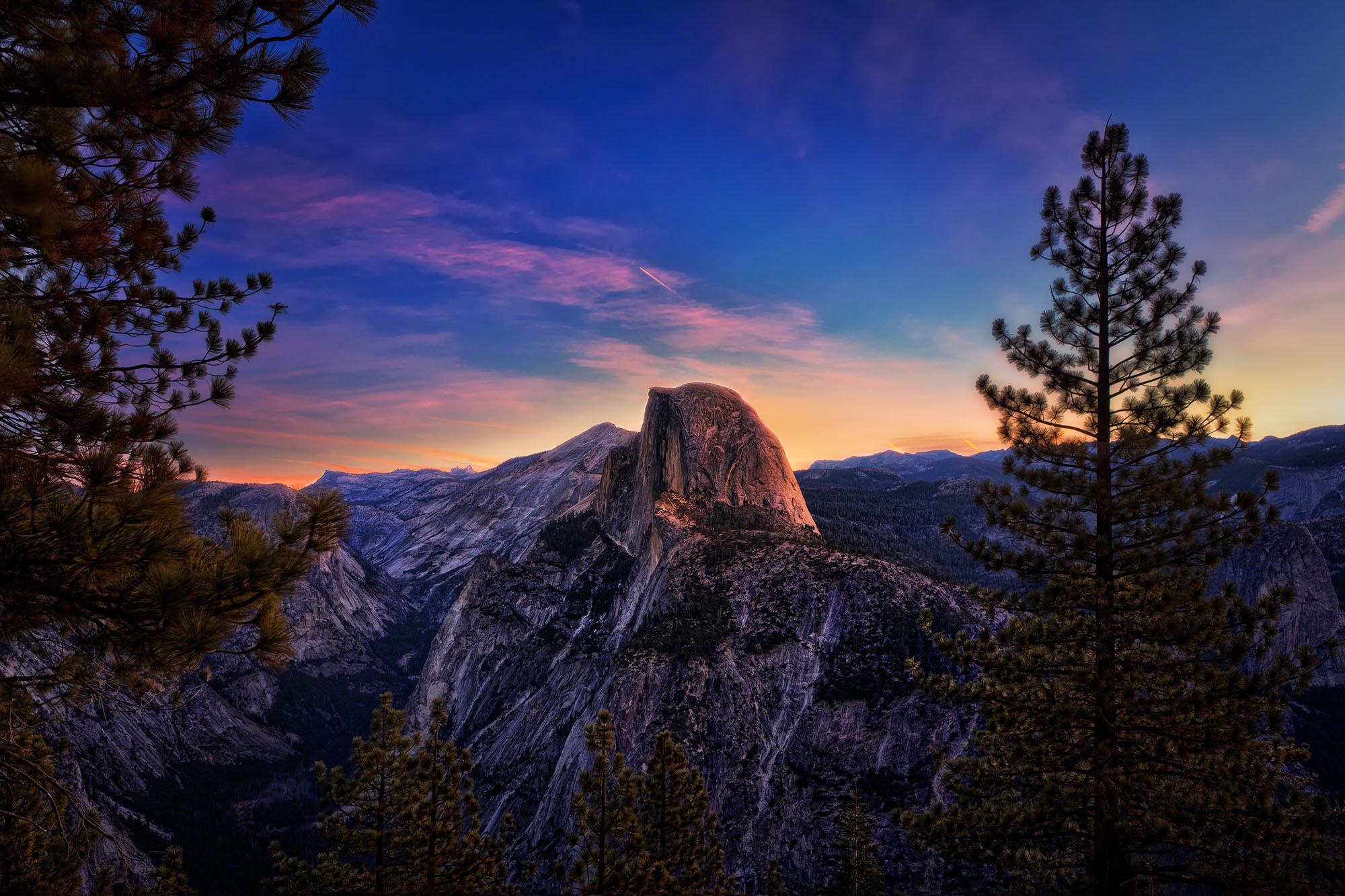 Photograph Half Dome at Sunrise by Scott Kublin on 500px