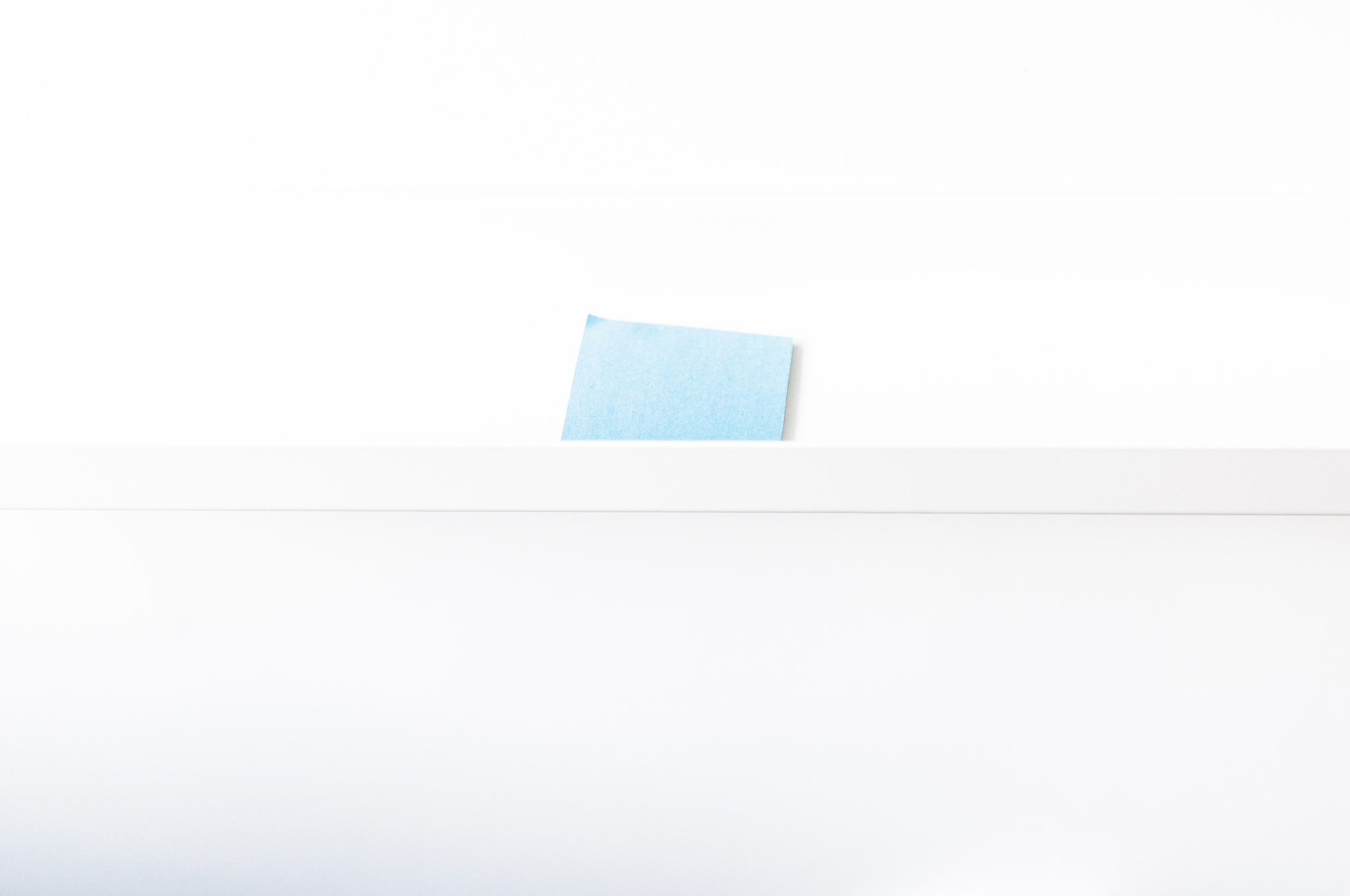 Photograph Blue Square on Wall by Kurt Nelson on 500px