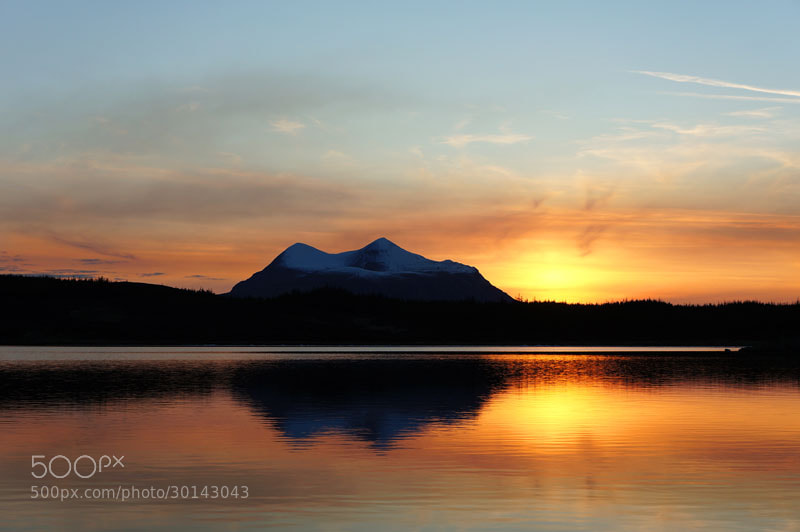 Photograph Cul Mor & Loch Borralan, Assynt, Sutherland, Scottish Highlands by Heather Leslie Ross on 500px