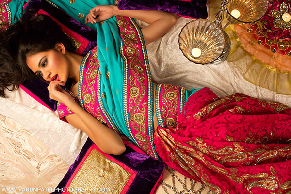 Photograph  Saree Girl  by  V   P  on 500px