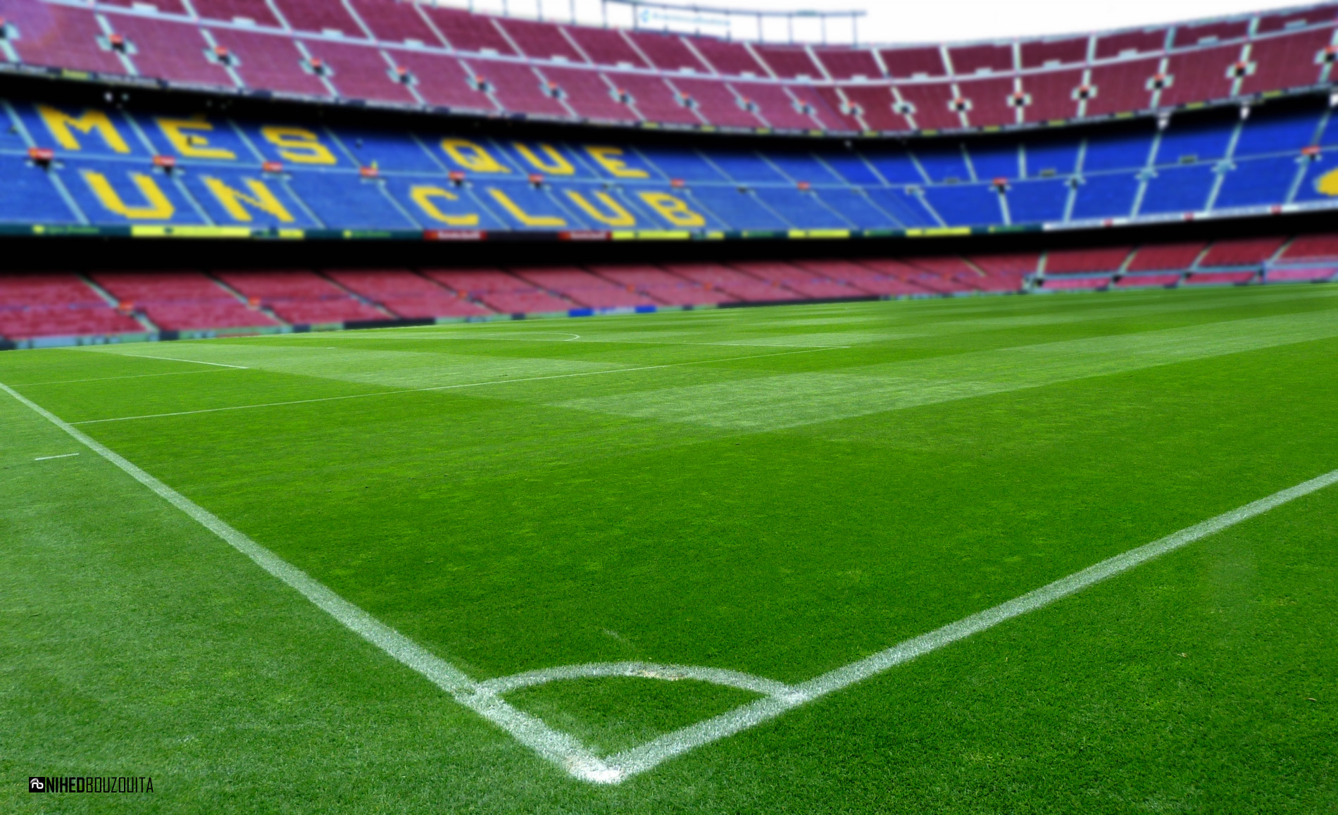 Photograph Deep Camp Nou by Nihed Bouzouita on 500px