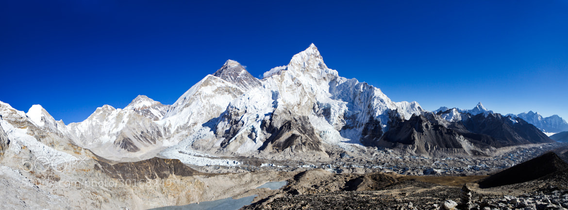 Photograph The Everest Range by Guy Brown on 500px