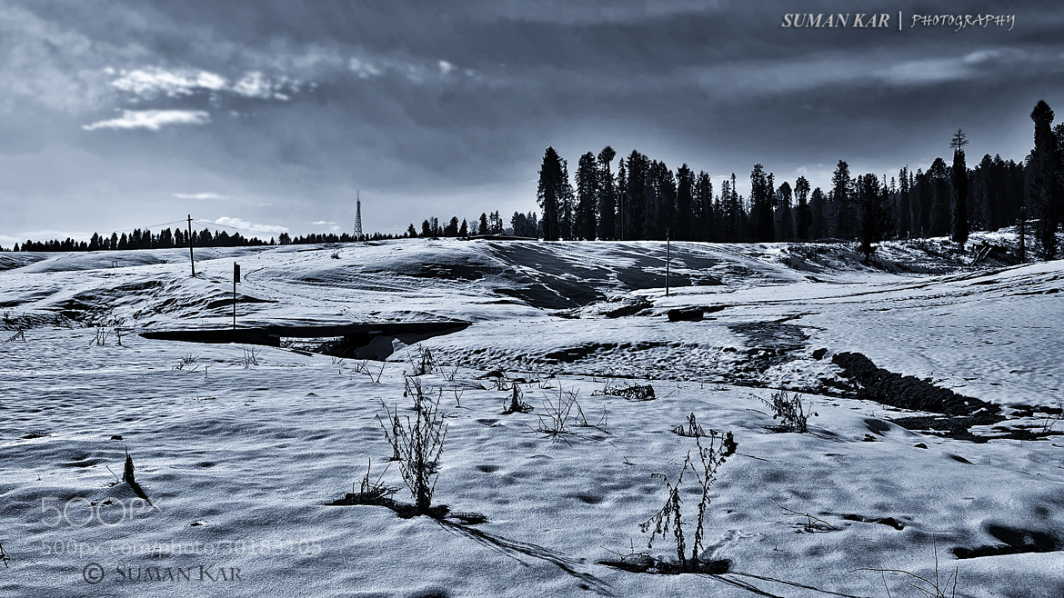 Photograph Dune of snow by Suman Kar on 500px