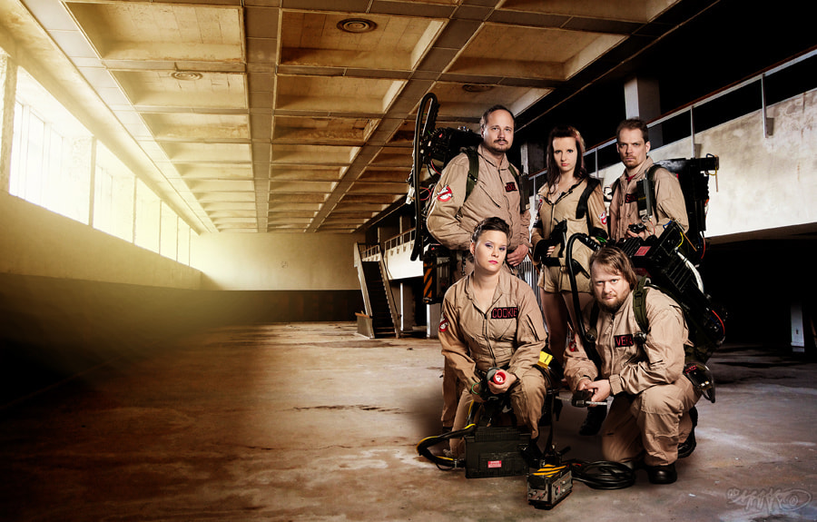 Photograph Ghostbusters by Marko Saari on 500px