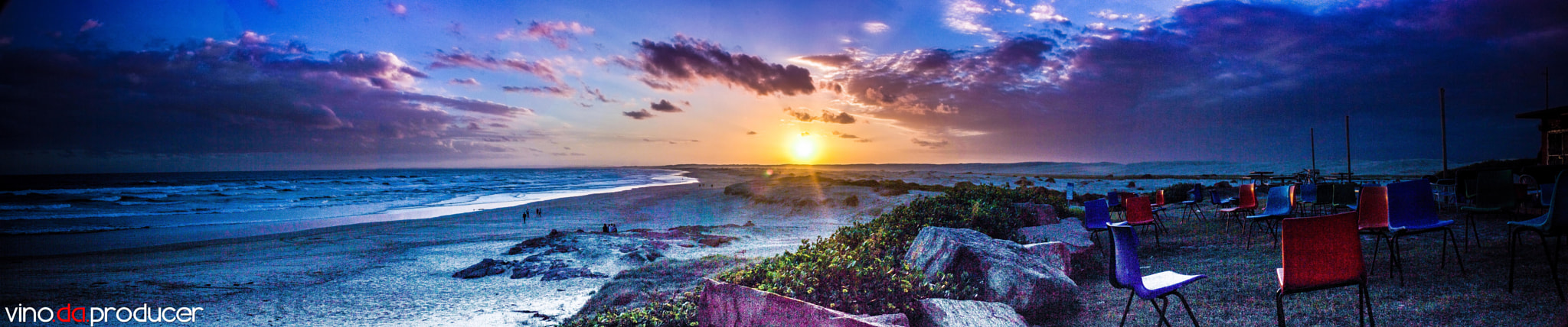 Photograph Stockton Beach Panorama by Vinodaproducer  on 500px