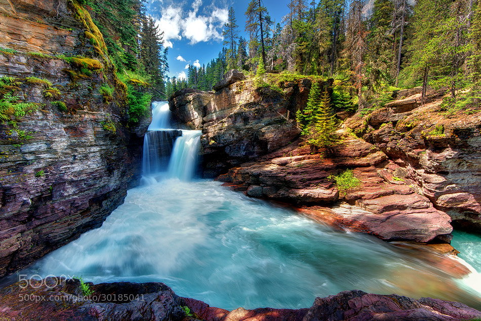 Photograph Saint Mary Falls by Ryan Engstrom on 500px