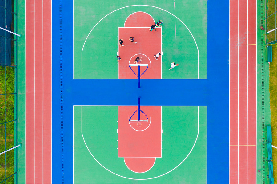 缤纷篮球场(广州) by KimKimKim  on 500px.com