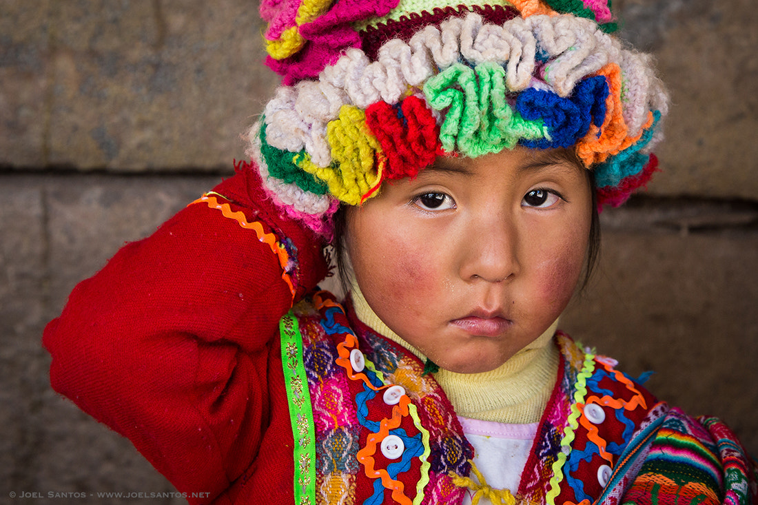 Photograph Peruvian Girl by Joel Santos on 500px