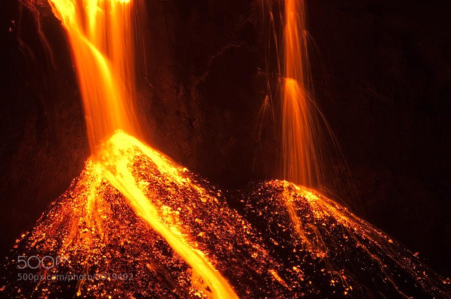 Photograph Lava Falls by Bragi Ingibergsson - BRIN on 500px
