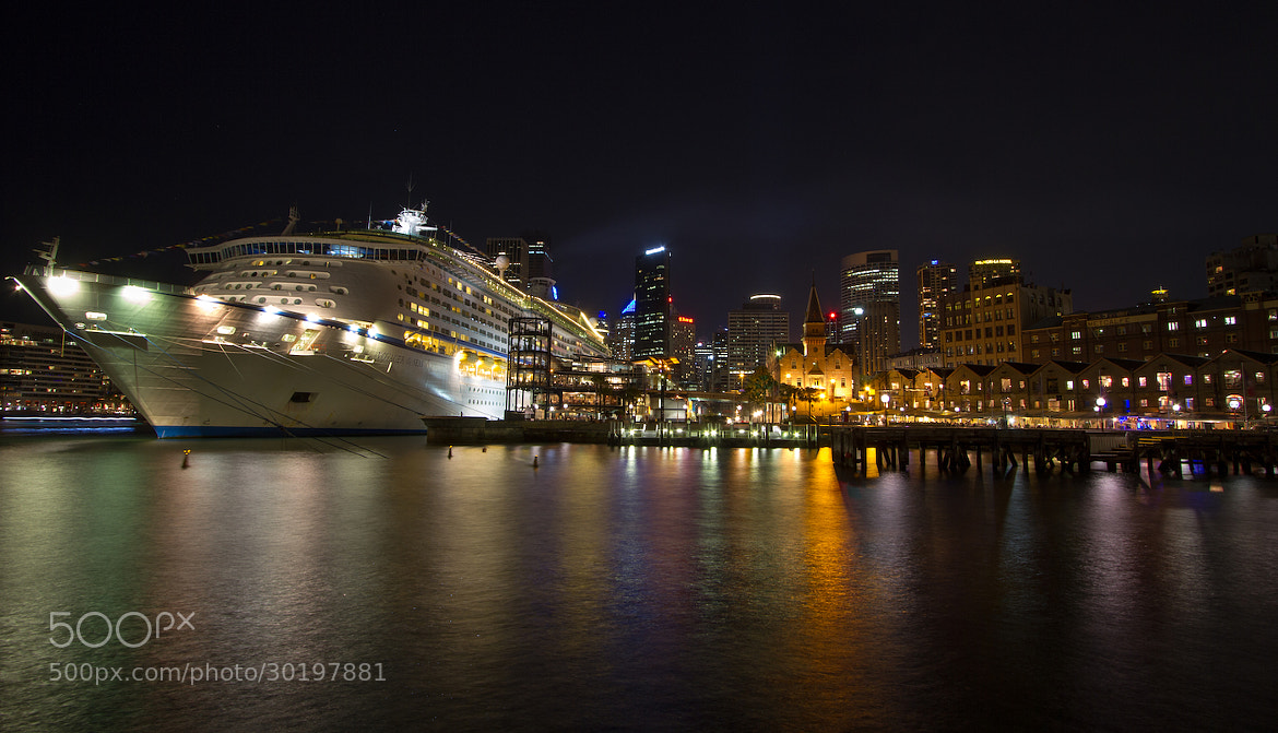 Photograph Cruise Ship in Sydney by Hans Fischer on 500px