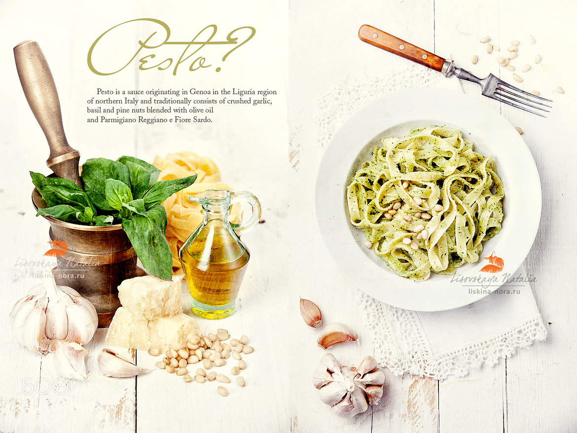 Photograph Pasta with Pesto by Natalia Lisovskaya on 500px