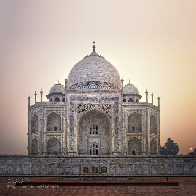 Photograph Taj Mahal Sunrise by Nina Papiorek on 500px