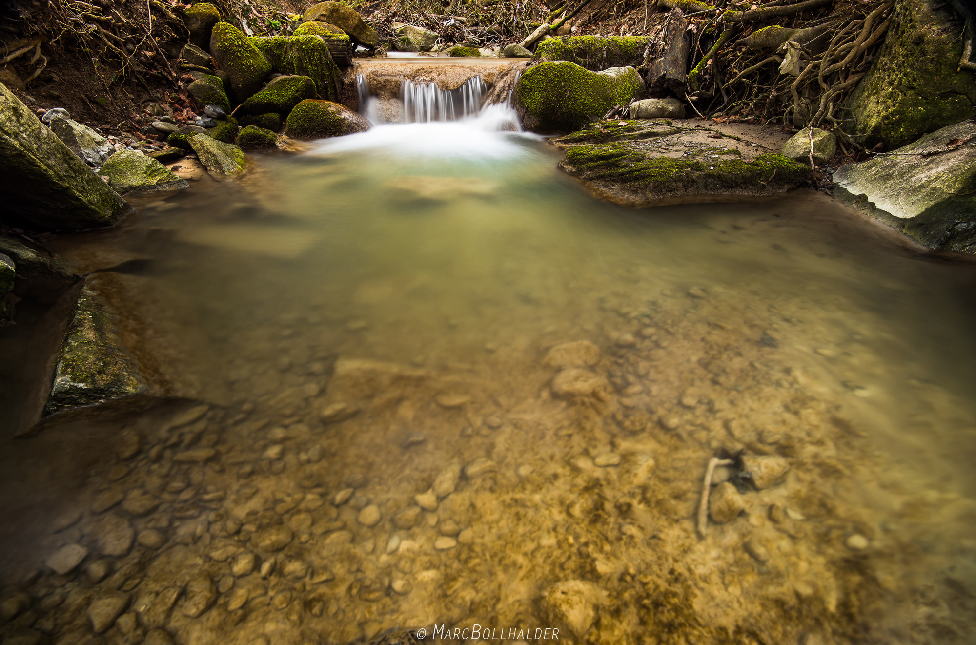 Photograph Little little waterfall by Marc Bollhalder on 500px