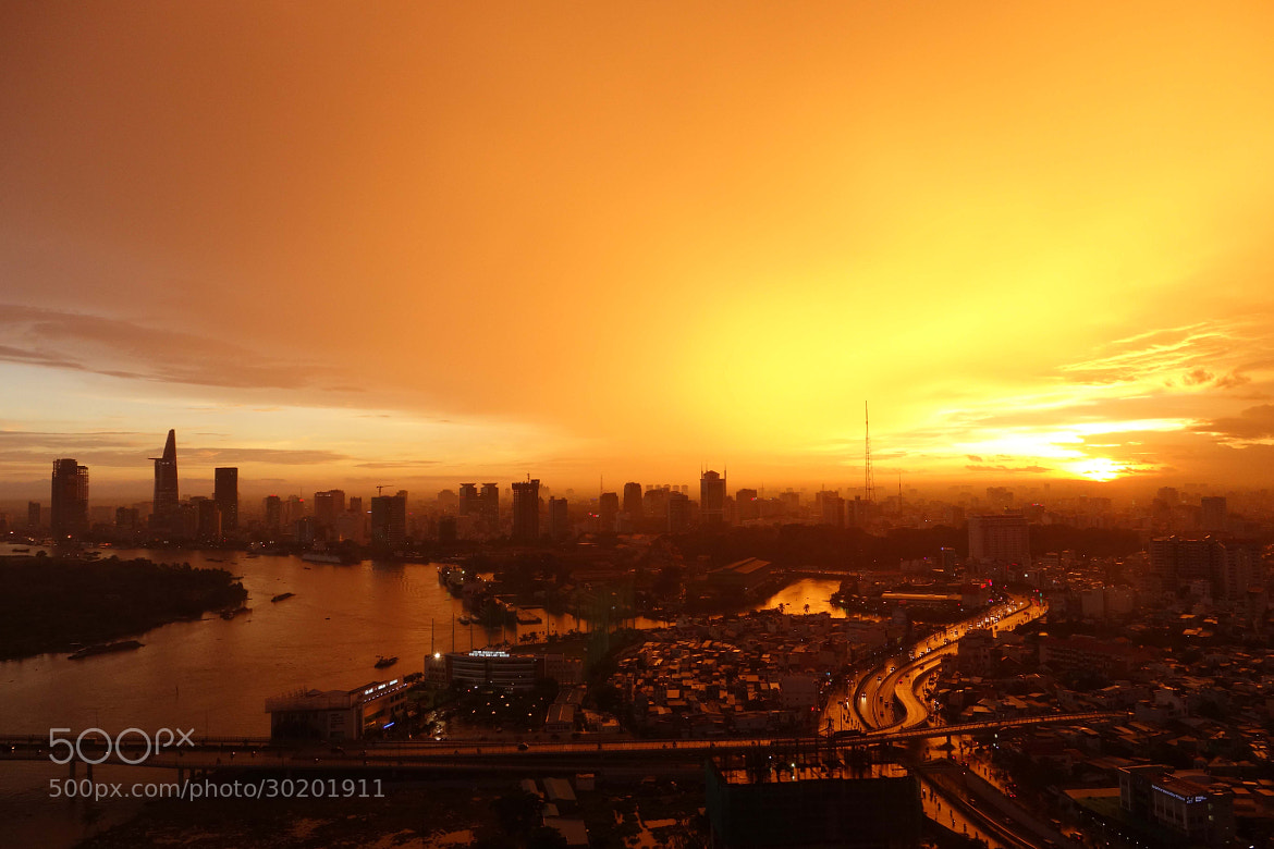 Photograph Sunset over Saigon by Heshan Jayakody on 500px