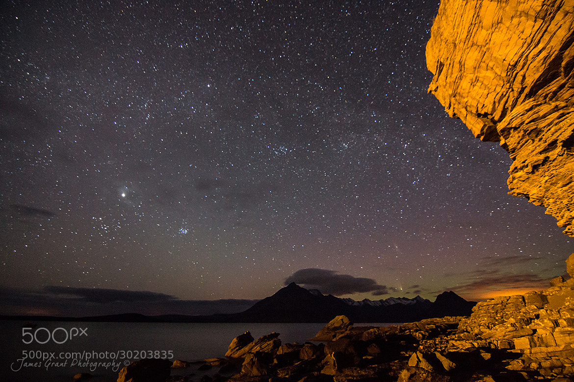 Photograph Elgol By Night by James Grant on 500px