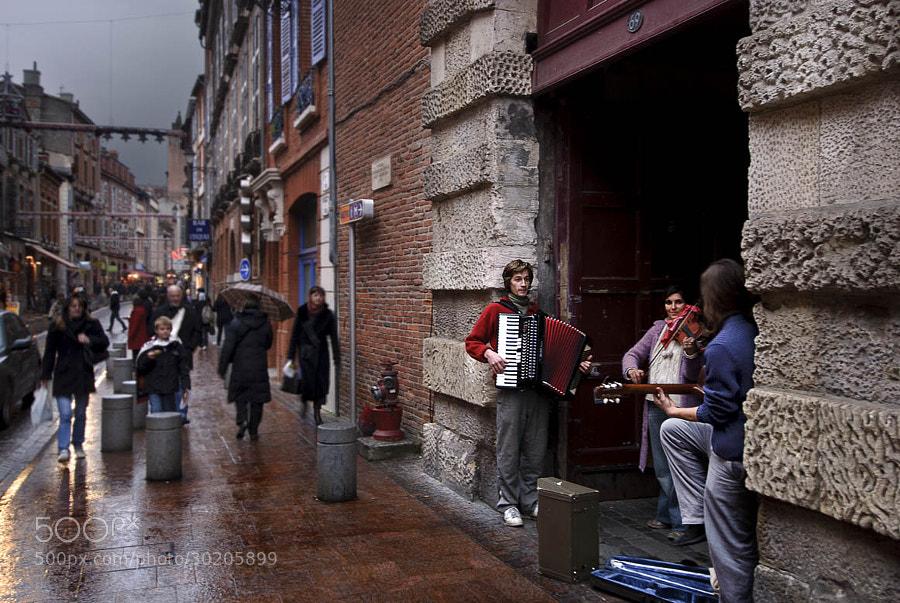 Photograph Music in the rain by Giuliana & Antonio Corradetti on 500px