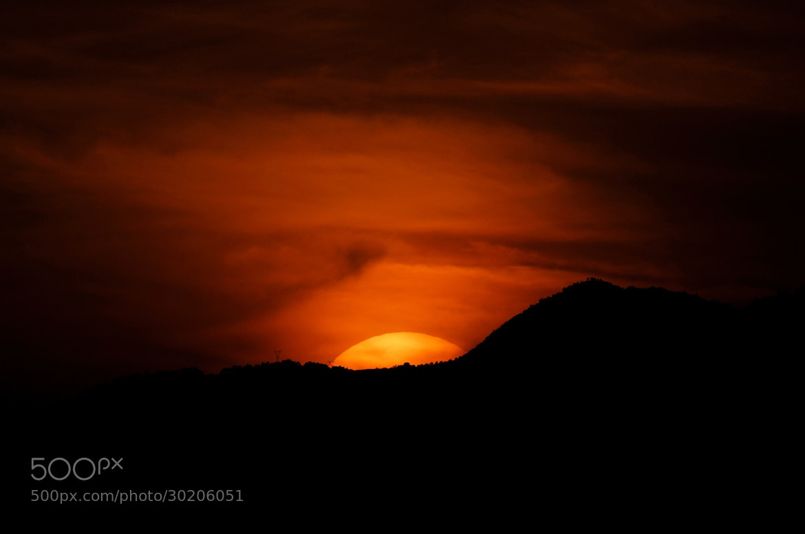 Photograph Sun going down by Cristobal Garciaferro Rubio on 500px