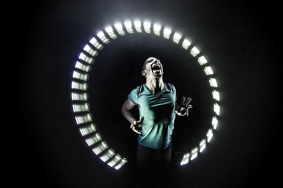 Photograph LightSpin with Leon Kupferschmid by Eric  Paré on 500px
