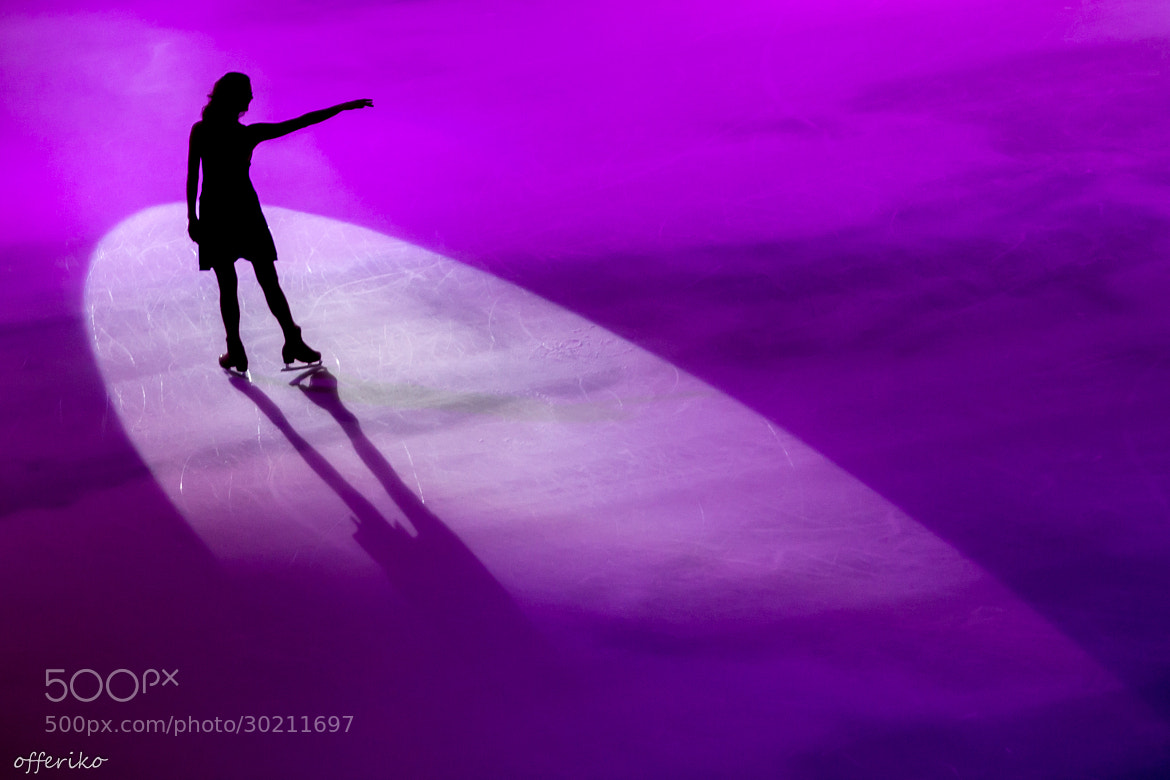 Photograph Ice dancer by Offer Gedanken on 500px