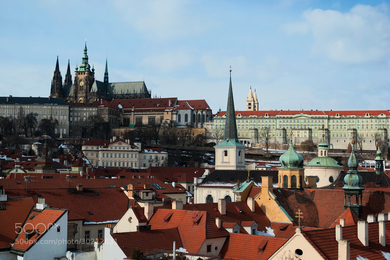Photograph Rooftops Beneath the Castle (Prague, Czech Republic) by James Clear on 500px