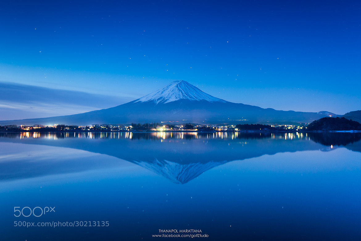 Photograph Fuji san by Thanapol Marattana on 500px