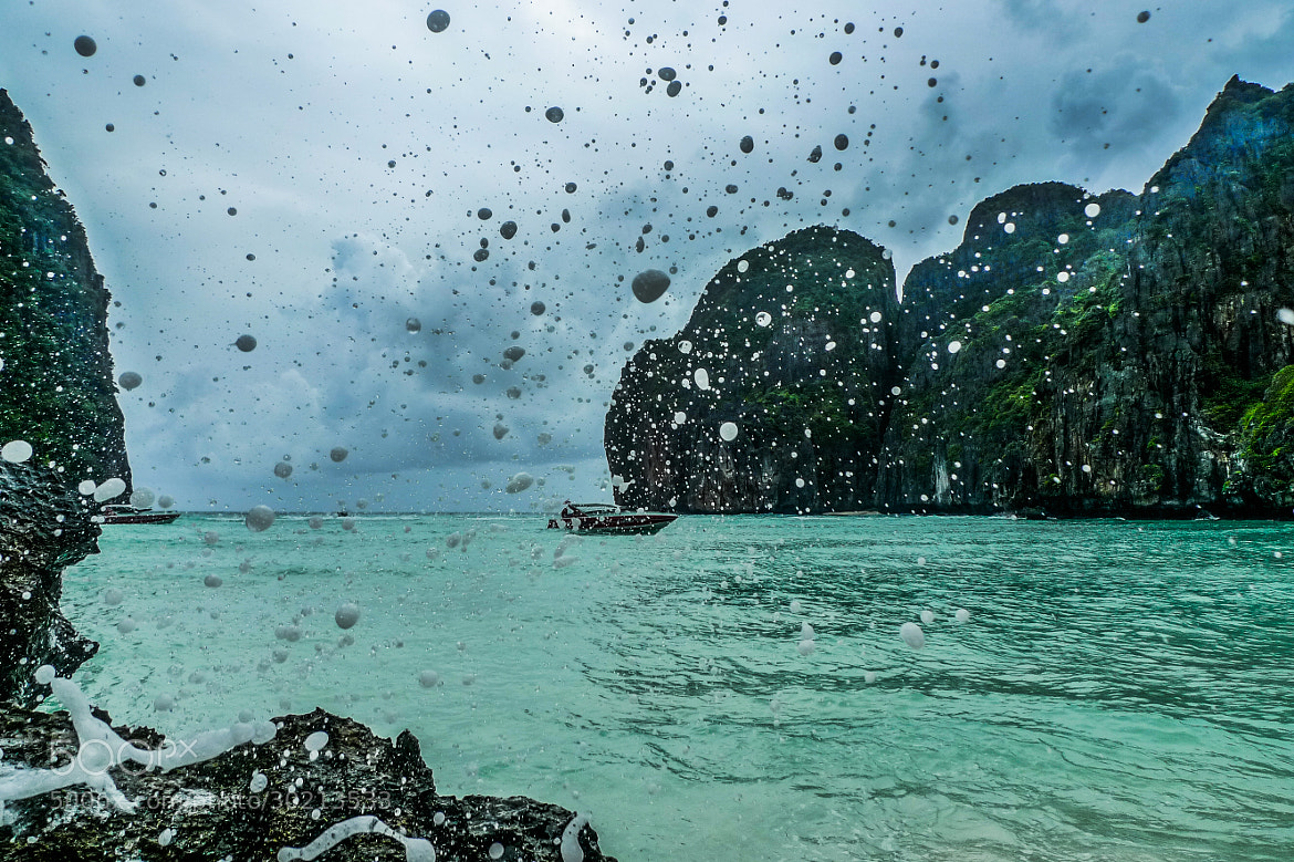 Photograph Stormy Maya Bay by Pierre  Brinas on 500px