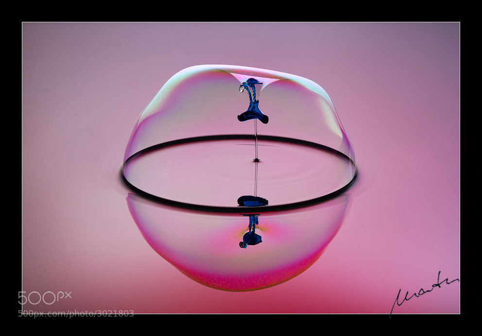 Photograph Fountain and bubble meet drops by Mario Tumm on 500px