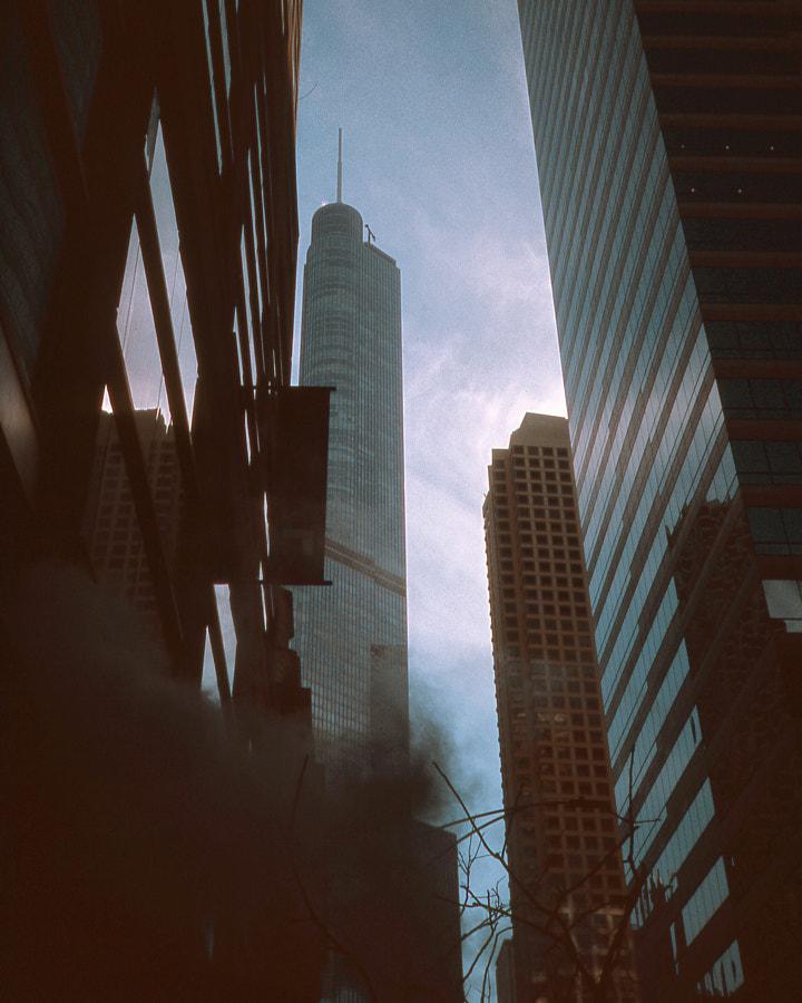 Downtown on Ektachrome 100 35mm by Caleb Zahm on 500px.com