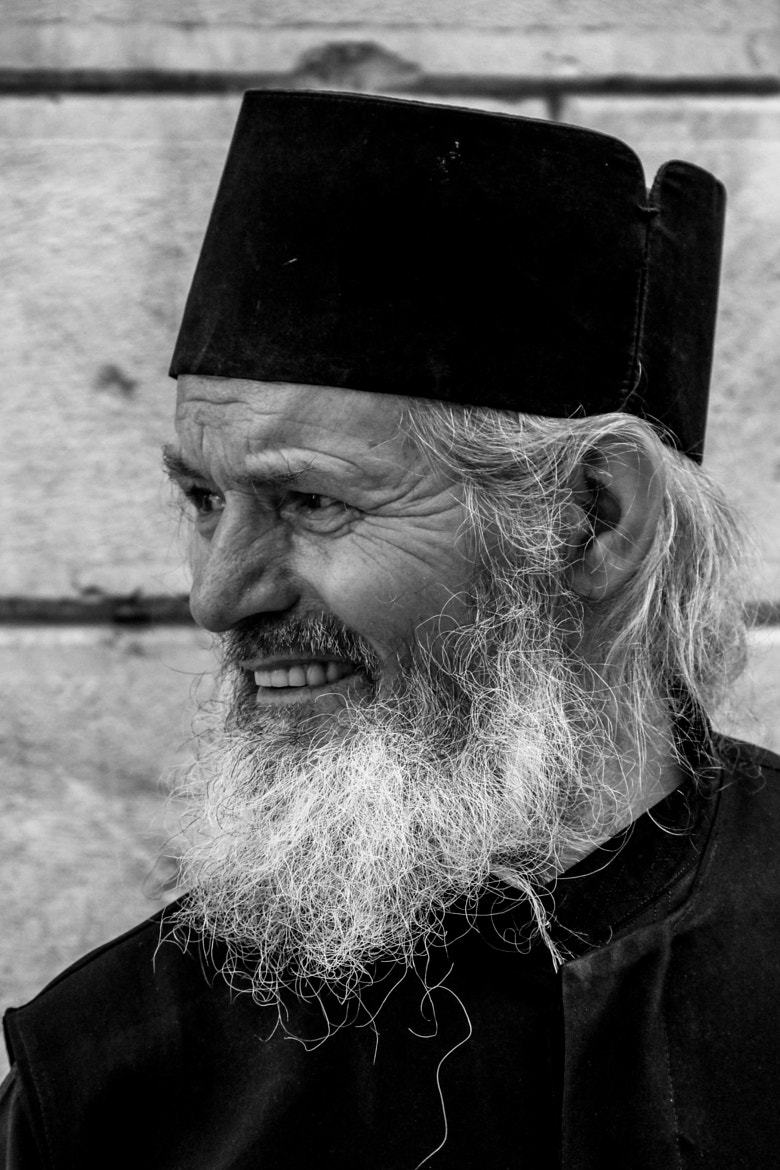 Photograph Greek Orthodox Priest by Ofer Perl on 500px