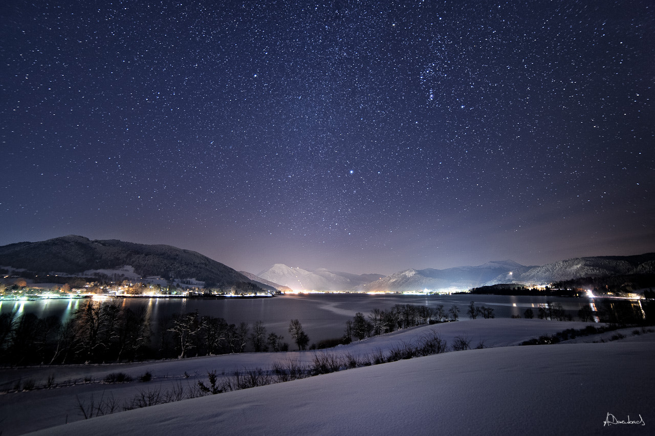 Photograph Tegernseer Tal @ Night II by Alexander Derenbach on 500px