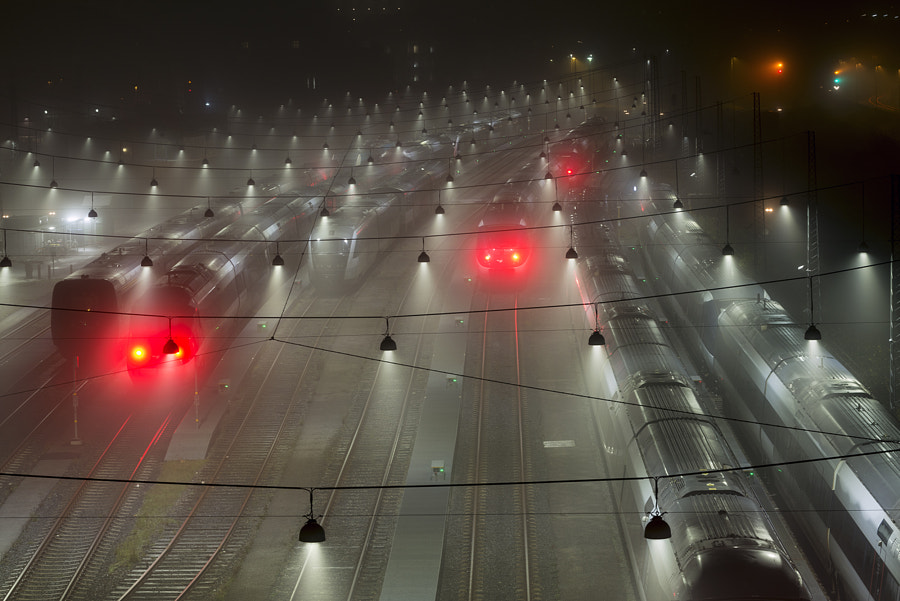 foggy night by Michael  Knudsen on 500px.com