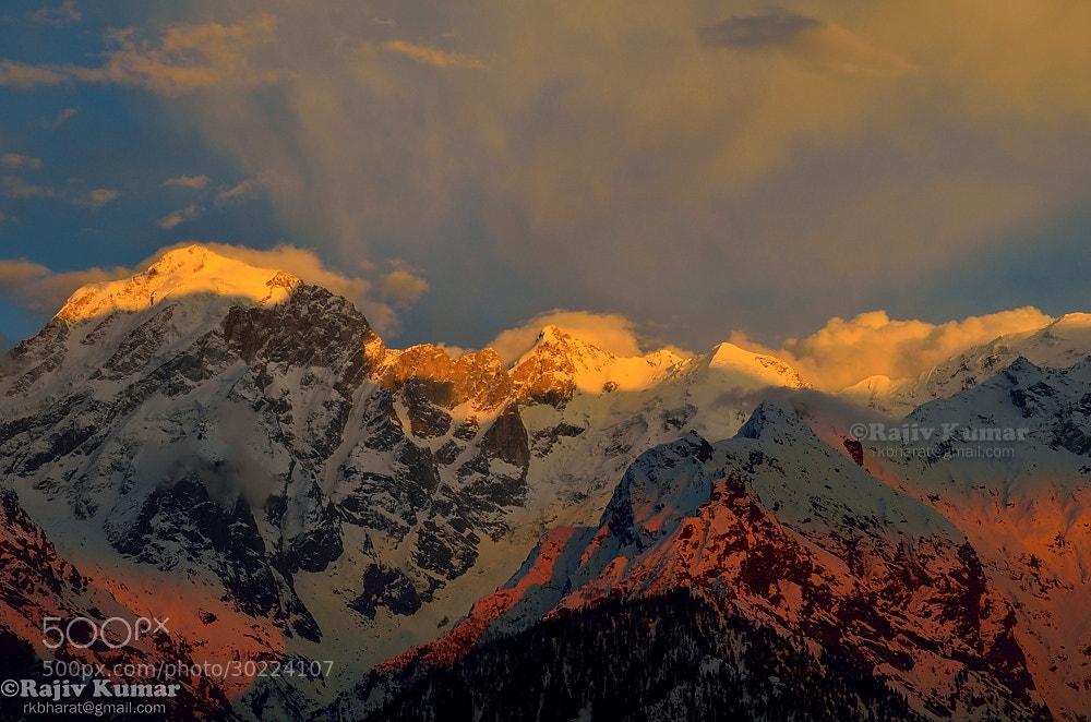 Photograph Hills on fire by Rajiv Kumar on 500px