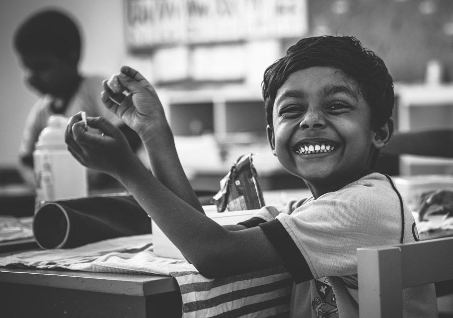 Primary school, Ratmalana, Sri Lanka by Son of the Morning Light on 500px.com