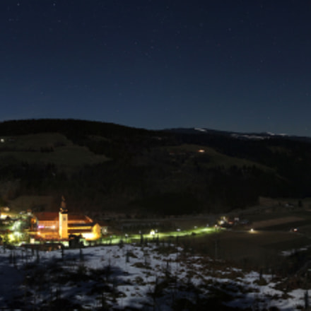 Gurk valley @ night