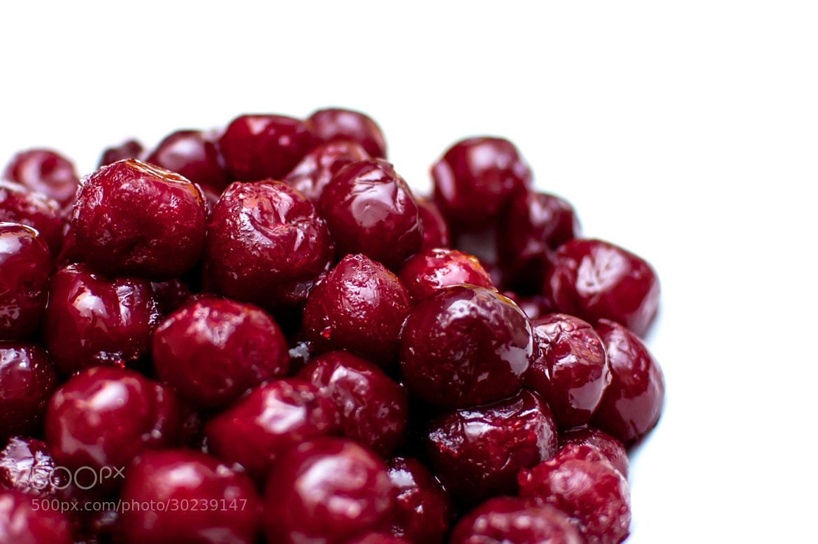 Photograph Sour cherries by Yane Naumoski on 500px