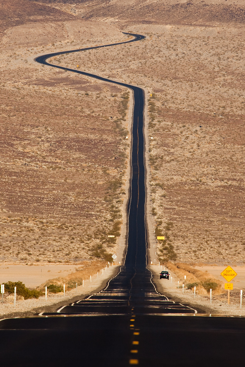 Photograph The road to Death Valley by Guy Brown on 500px