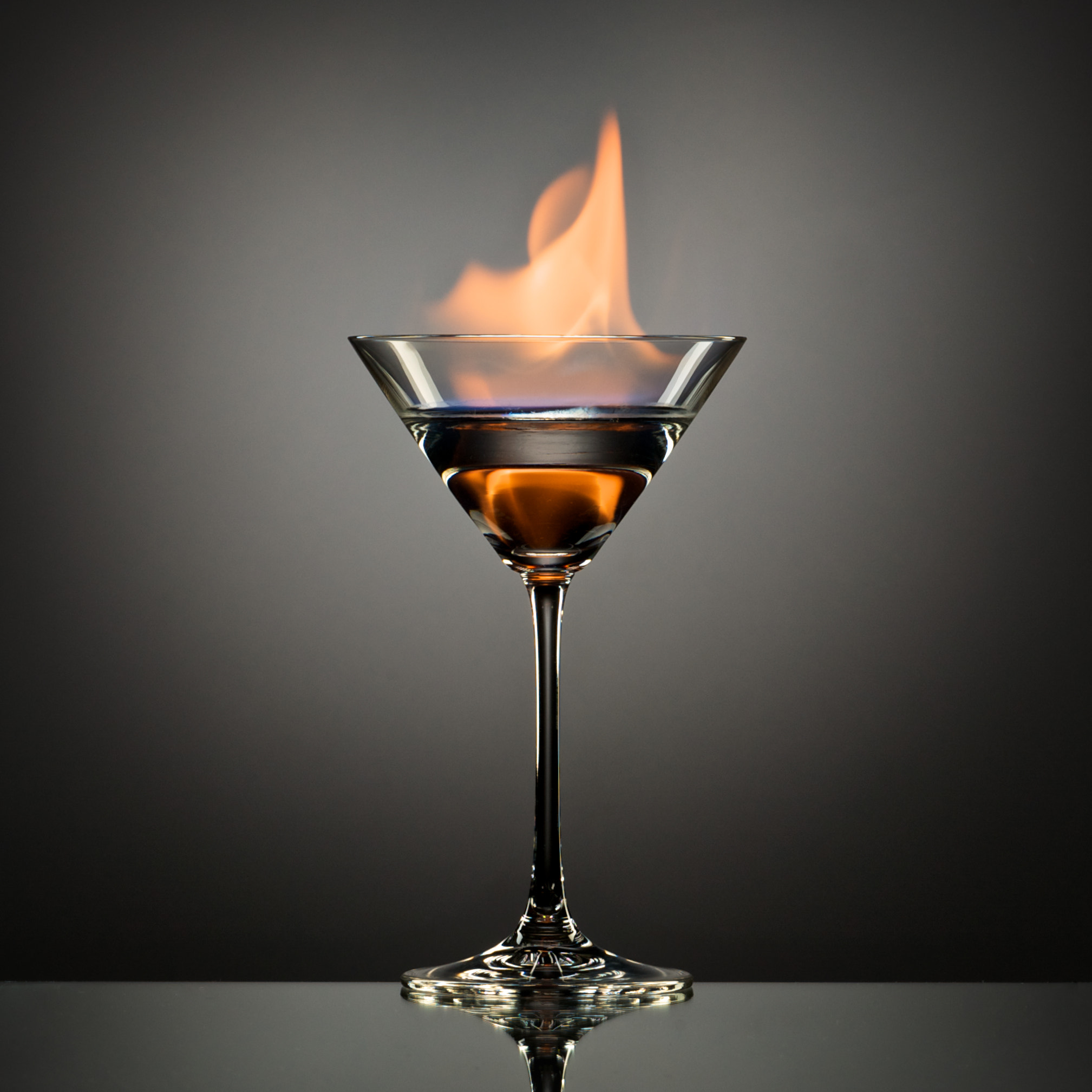 Photograph The Flaming Martini by Andrew Vernon on 500px