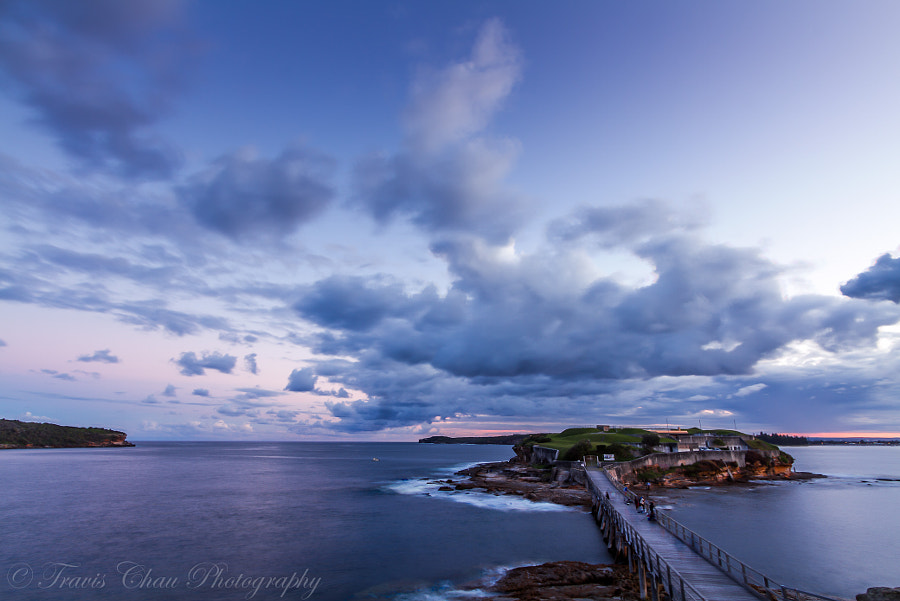 Photograph Bare Island Botany Bay Sydney Australia by Travis Chau on 500px